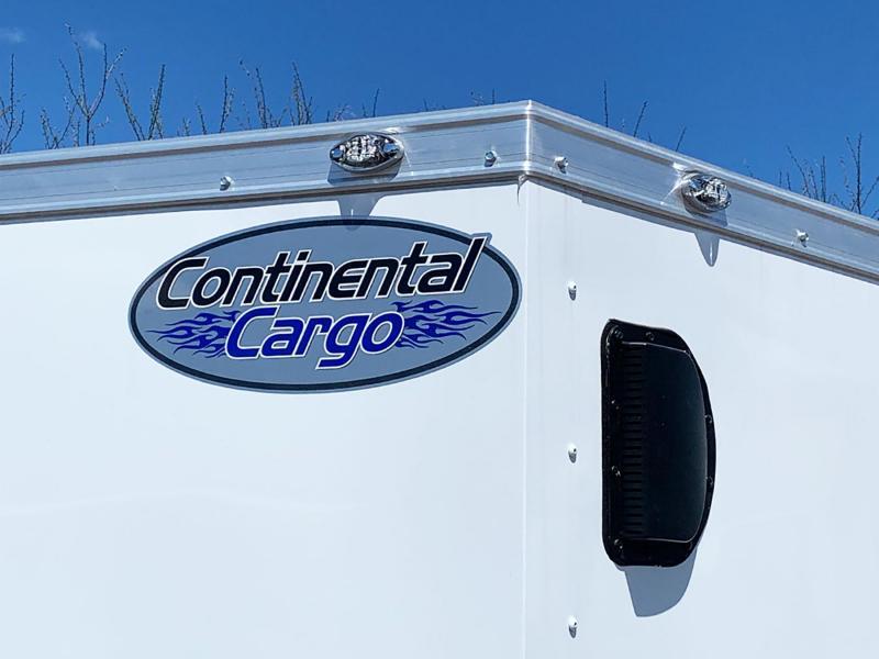 Continental 7x14 Enclosed Trailer - Rear Ramp!