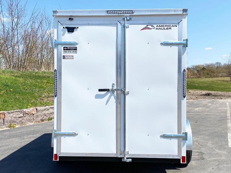 "American Hauler 6x10 Enclosed Trailer - 6'6"" Int - Dbl Rear Doors!"