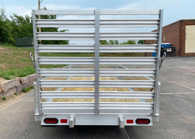 Quality Trophy 5x10 Open Aluminum Utility Trailer!