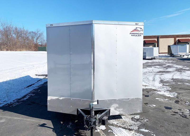 American 8.5x20 Enclosed Cargo Car/UTV Trailer - Rear Ramp- 7ft Interior