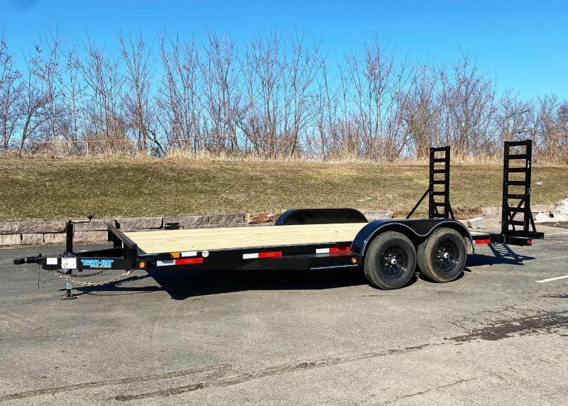 Top Hat 83 x 18 Car/Bobcat Hauler - 9990# GVWR