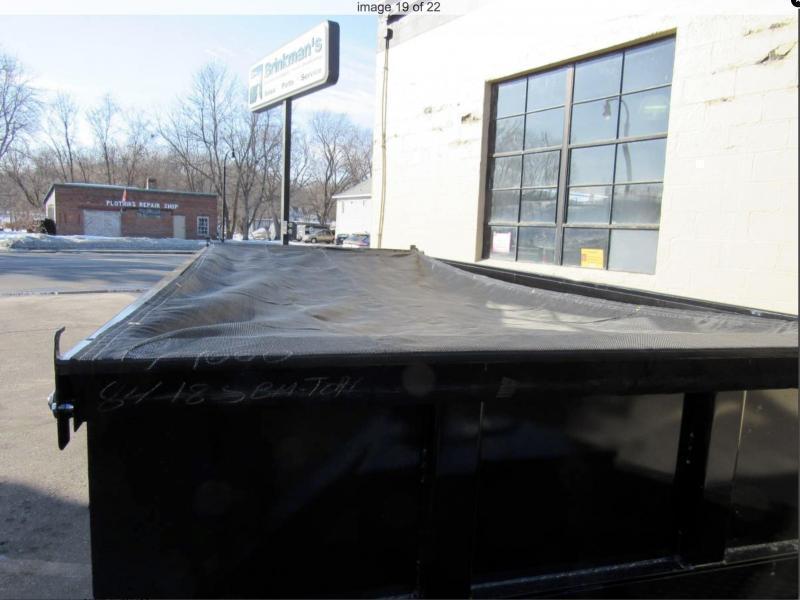 Top Hat 7 x 14 Dump Trailer 14000# GVWR w/ Scissor Lift/ Tarp System!