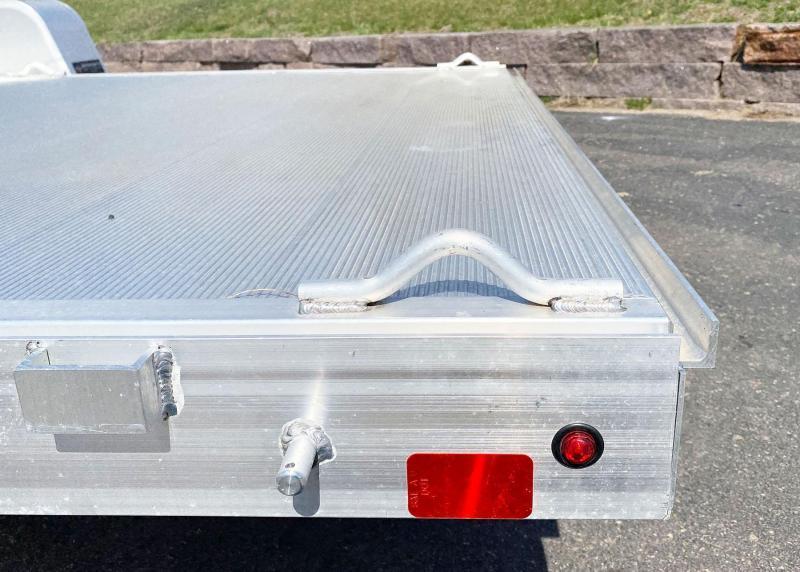 Aluma 8114 Aluminum ATV Utility Trailer