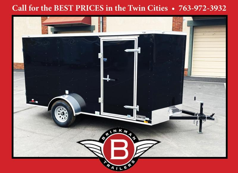 Continental Cargo 6x12 Enclosed Cargo Trailer -DBL Door - HOT PRICE!