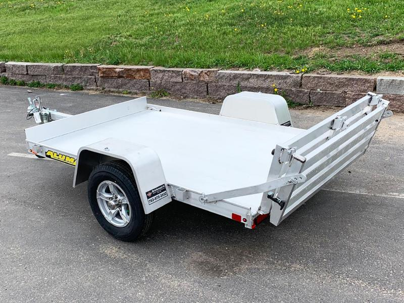 Aluma 638 Open Utility Trailer - Bi-Fold Ramp - All Purpose!
