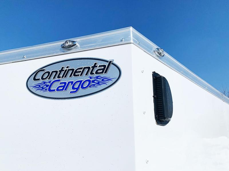 Continental 6x10 Enclosed Contractor Trailer with Ramp