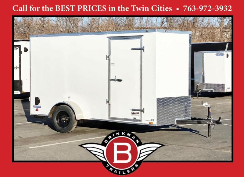 Continental Cargo 6x12 Enclosed Cargo Trailer - Ramp - Great Buy!