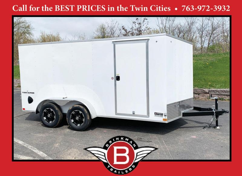Formula 7x14 Enclosed Trailer - Rear Ramp!
