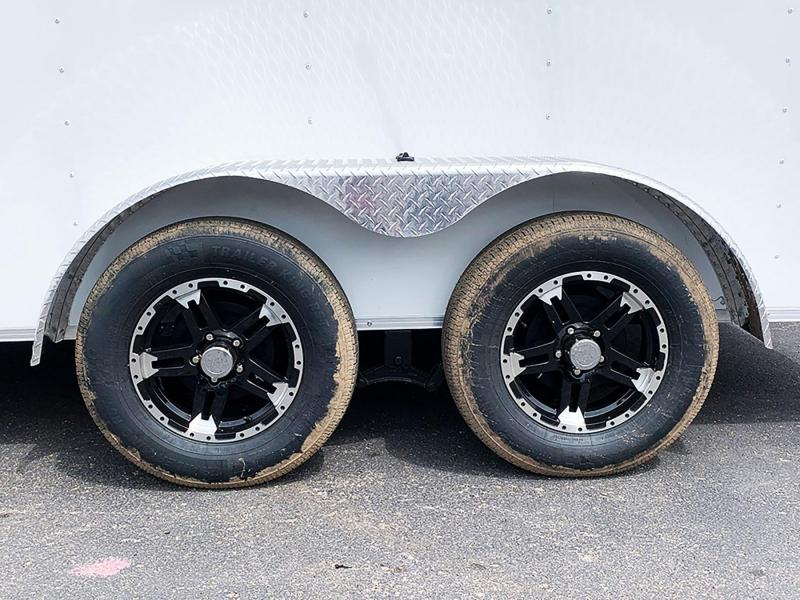 Formula 7x14 Enclosed Trailer - Rear Ramp!