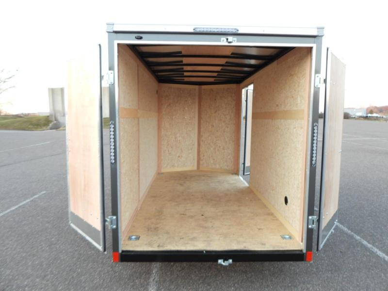 American Hauler 6x12 Cargo Enclosed Trailer -DBL Doors - Quality!