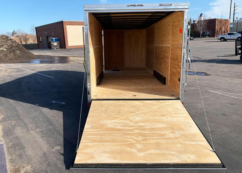 Continental 7.5x20 Enclosed Trailer - 7' Int. - Rear Ramp!