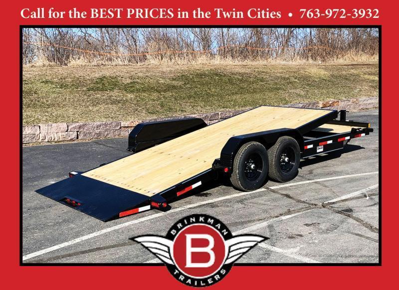 Top Quality Top Hat 83x 22 Tilt Bed Car/Bobcat Hauler - 14,000# GVWR!