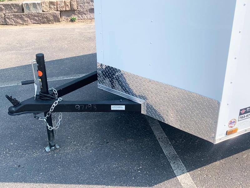 "Continental 6.5x12 Enclosed Trailer - 32"" Side Door - Rear Ramp!"