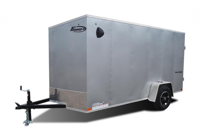 2021 Formula Trailers Traverse Slope V-nose Cargo / Enclosed Trailer