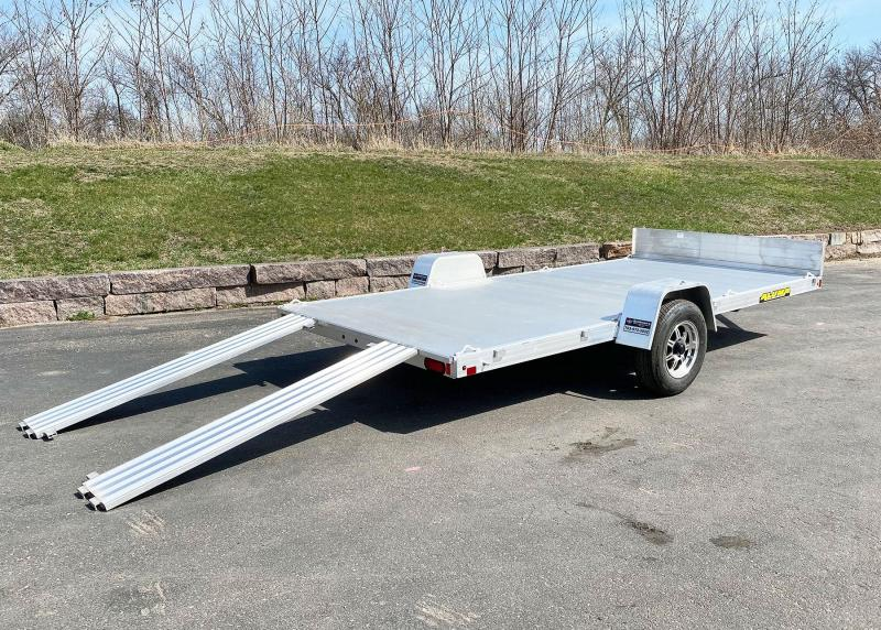 Aluma 8114 (81x14) Aluminum ATV Trailer - Side Ramps!