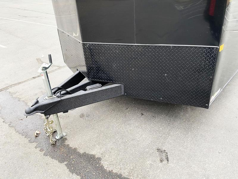 American Hauler 8.5x24 Enclosed Cargo Car Trailer - Black Out Package