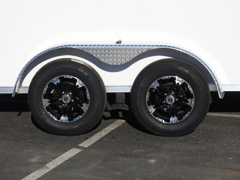"""Formula 7x14 UTV Enclosed Trailer - 7'6"""" Interior - Deluxe!"""