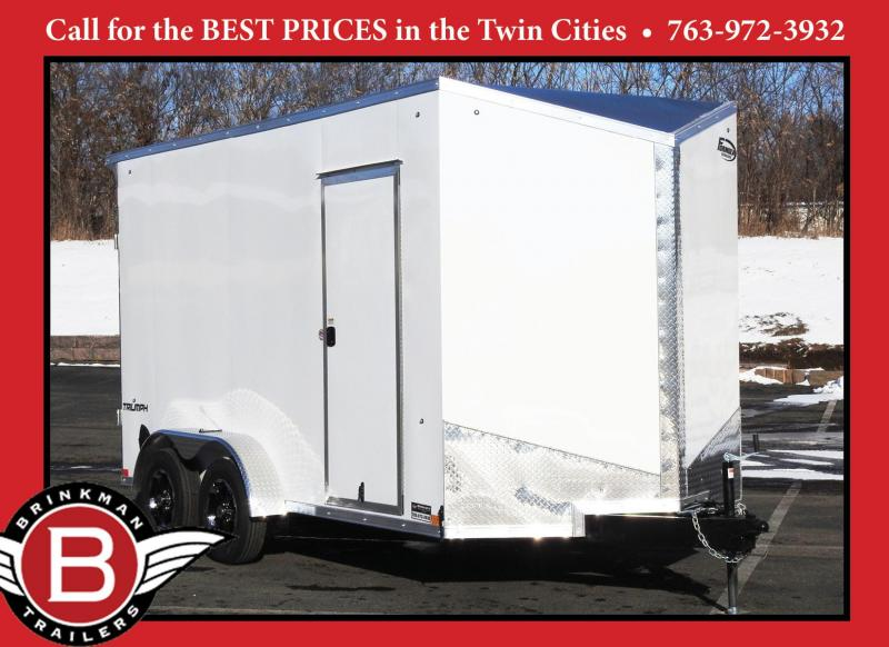 "Formula 7x14 UTV Enclosed Trailer - 7'6"" Interior - Deluxe!"