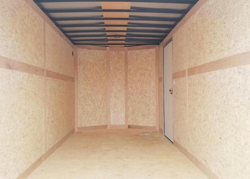 Premium Haulmark 7x16 Enclosed Contractor Trailer - 7' Interior