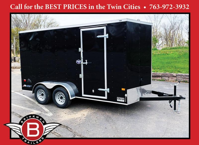Deluxe American Hauler 7x14 Enclosed Trailer - 7' Int. - Rear Ramp!