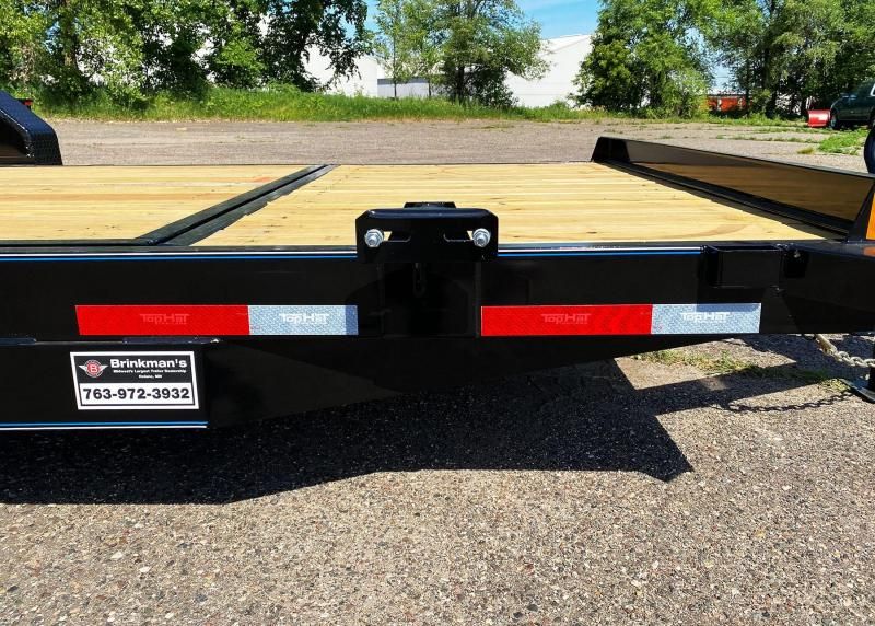 Heavy Duty Top Hat 83x20 Tilt Bed Trailer - 14,000# GVWR!