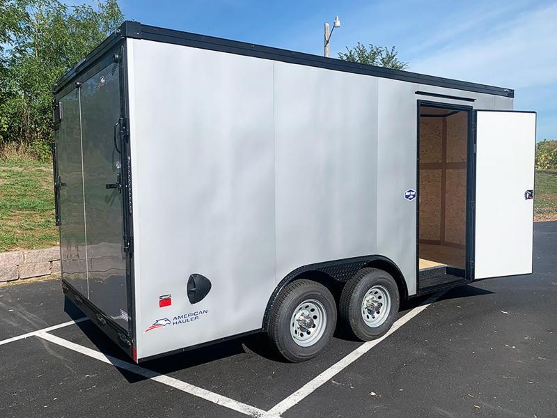 American Hauler 8.5x16 Enclosed Cargo Trailer - 7' Int. - Black Out Pkg!
