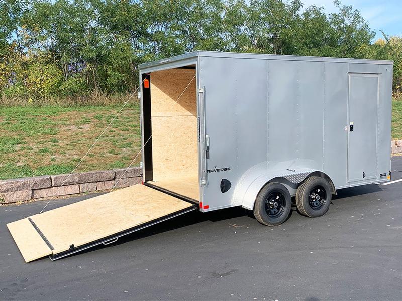 Formula 7x14 Enclosed Cargo UTV Trailer - 7' Int. - Rear Ramp!