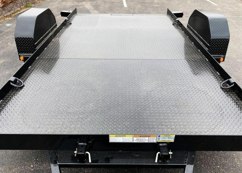 Heavy Duty Top Hat 80x12 Utility Tilt Bed - 7,000# GVWR!