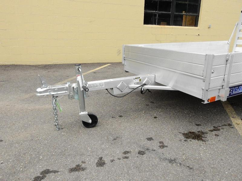 "Aluma 548 -54""x8' Aluminum Utility Trailer w/ 12"" Sides Included!"