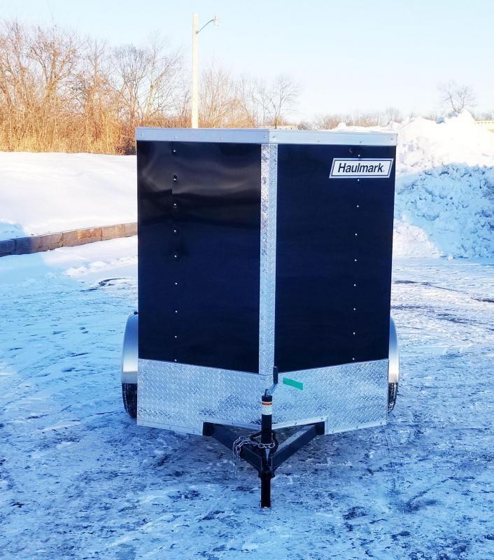 Haulmark 5 x 8 V-Nose Enclosed Trailer - Deluxe Model- Awesome Buy!