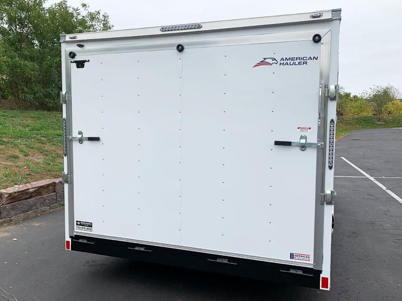 "American Hauler 8.5x20 Enclosed Cargo Trailer - 6'6"" Int. - Rear Ramp!"
