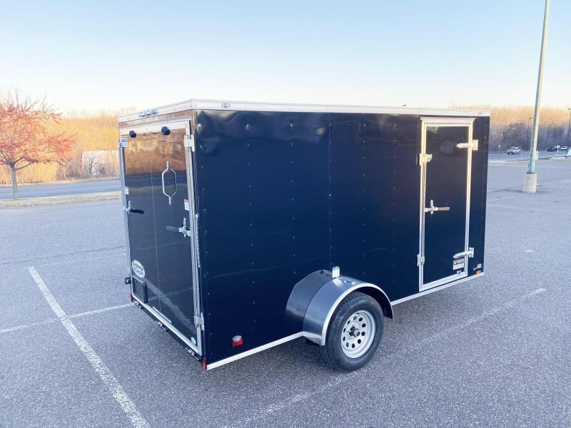 Continental Cargo 6x12 Enclosed Cargo Trailer w/ Ramp - BEST BUY!