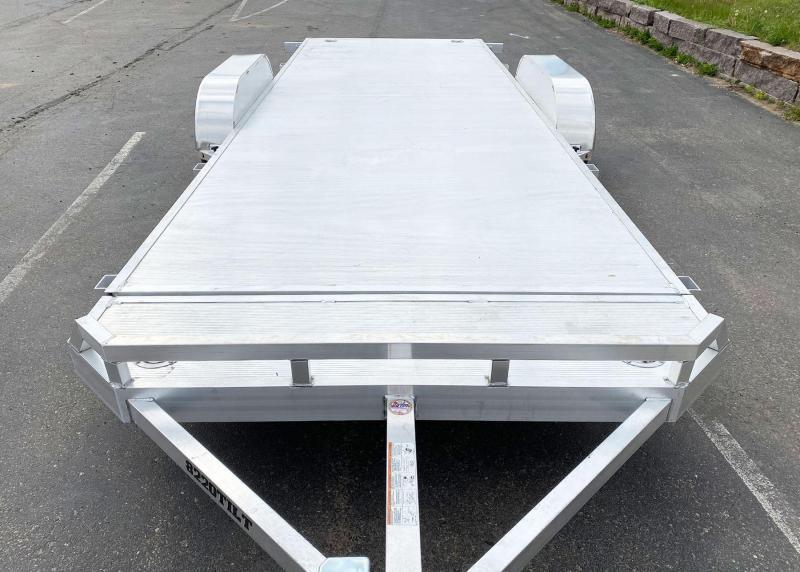 Aluma 8220 Aluminum Tilt Bed Trailer - 7,000# GVWR!