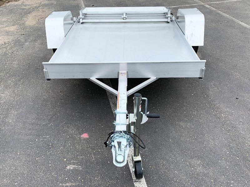 Aluma 638 Open Utility Trailer - Bi-Fold Ramp - All Purpose!