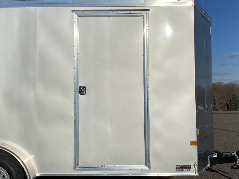 Deluxe 2021 Haulmark 7x16 Enclosed Cargo Trailer 7' Interior & Dbl Doors