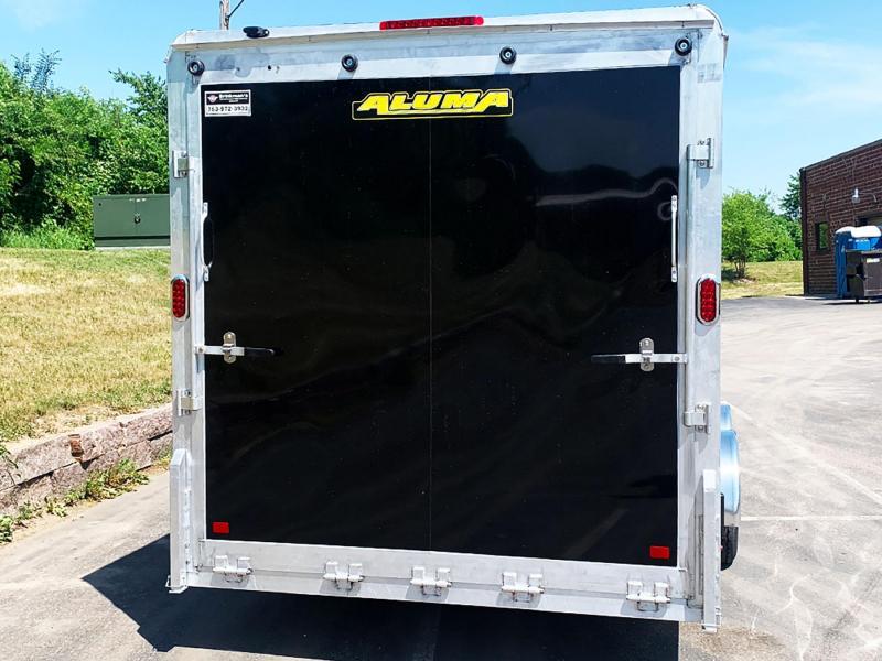 ALUMA 7.5X18 Enclosed Aluminum UTV Trailer- 7' INTERIOR