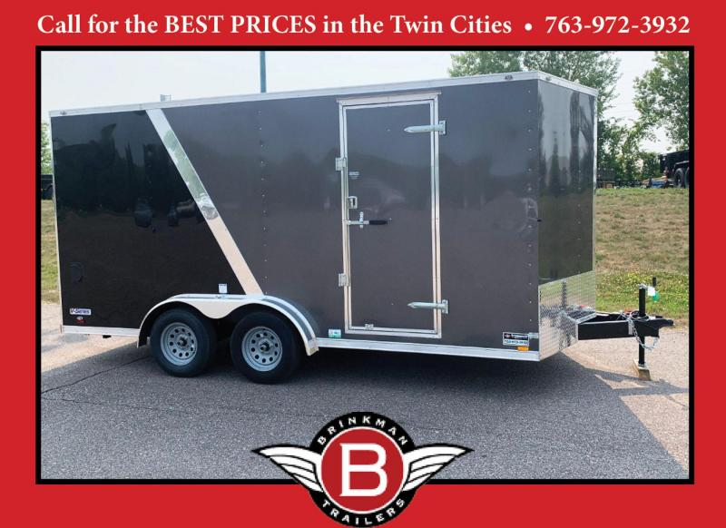 Continental Cargo 7.5x16 Enclosed Trailer - 7' Int. - 9 D-Rings!