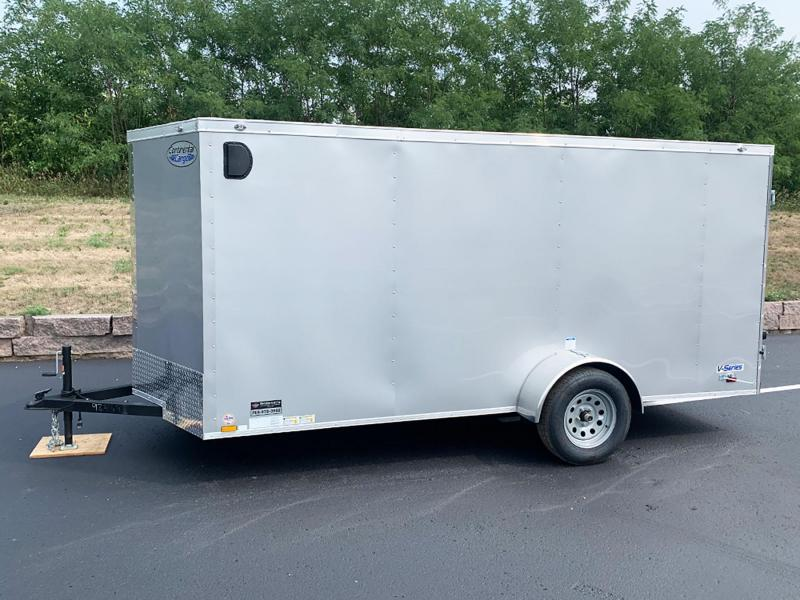 Continental Cargo 6x14 Enclosed Trailer - Double Rear Doors!