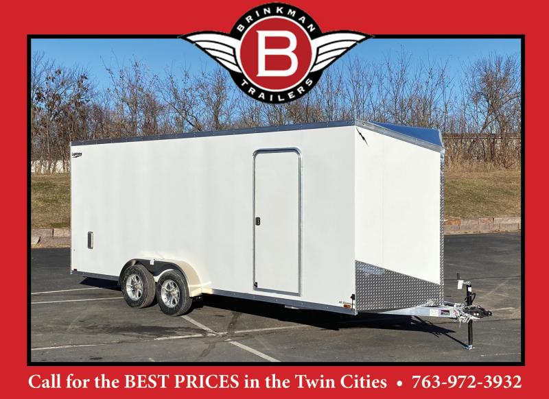 Lightning 7x20 Aluminum Enclosed Trailer - 7' Int.-Rear Ramp - UTV!!