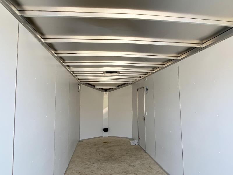 Lightning 7x20 Aluminum Enclosed Trailer - 7' Int.-Rear Ramp - UTV!!