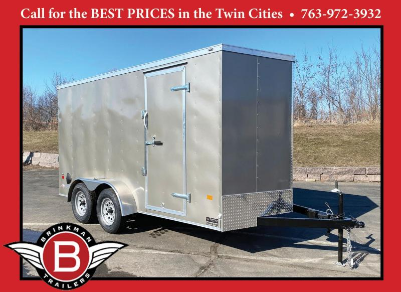 "American Hauler 7x14 Enclosed Trailer 6'6"" Interior - Rear Ramp!"
