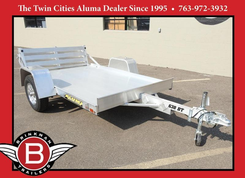 Aluma 638 Open Utility Trailer w/ Bi-Fold Gate - All Purpose!