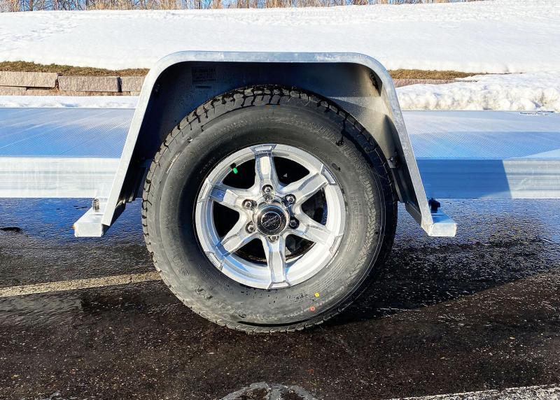 Aluma 8214HS Heavy Duty Aluminum Trailer - Ramps - 5200# GVWR!