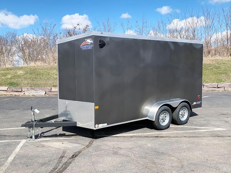 American Hauler 7x16 Enclosed Trailer - 7' Int. - Rear Ramp!