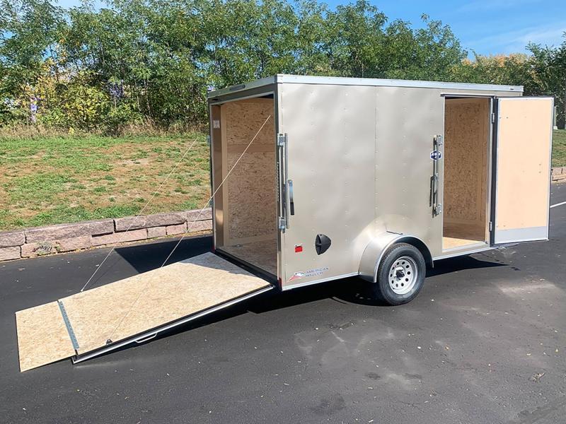 "American Hauler 6x12 Cargo Enclosed Trailer - 6'6"" Int. - Rear Ramp!"