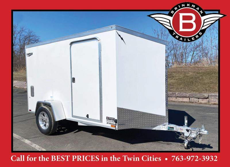 Lightning 5x10 Aluminum Enclosed Cargo Trailer!