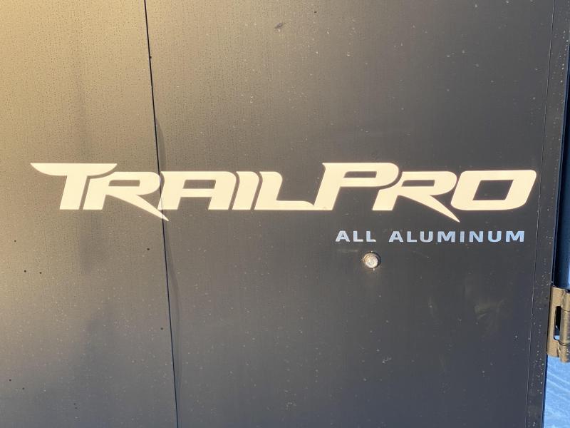 Formula 7x27 (22'+5'V) Aluminum Enclosed Snowmobile Trailer - SUPREME