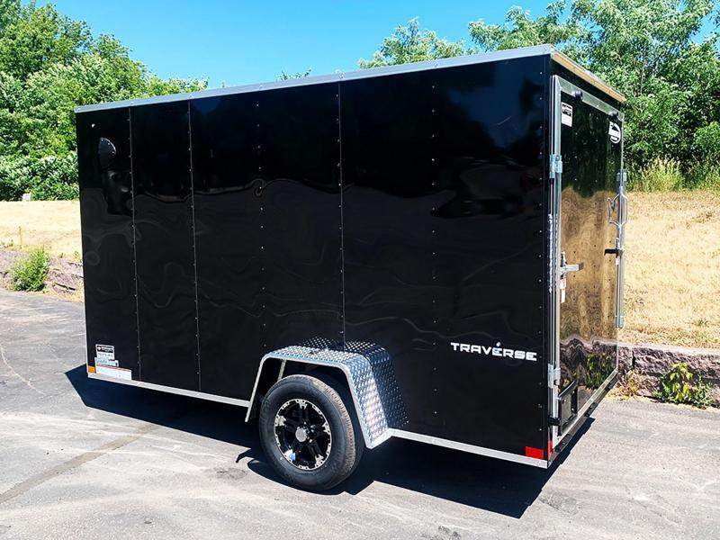 "Formula 6x12 Traverse Enclosed Trailer - 6'6"" Int. - Rear Ramp!"