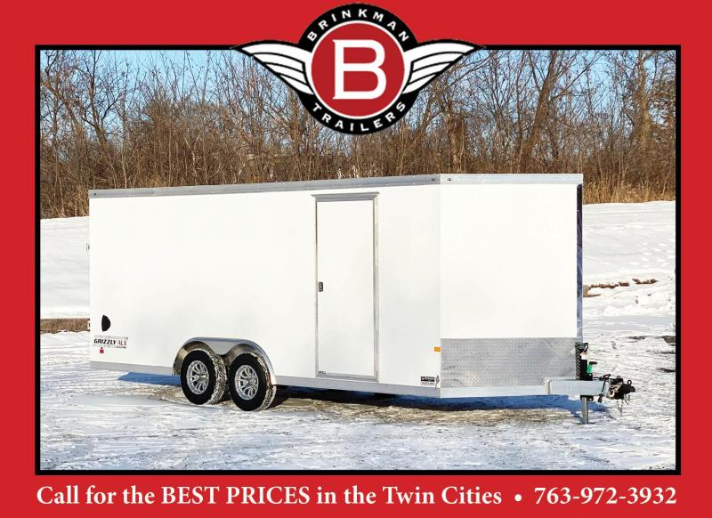 Haulmark 8.5x20 Aluminum Enclosed Cargo Trailer -7' Interior -10K GVWR