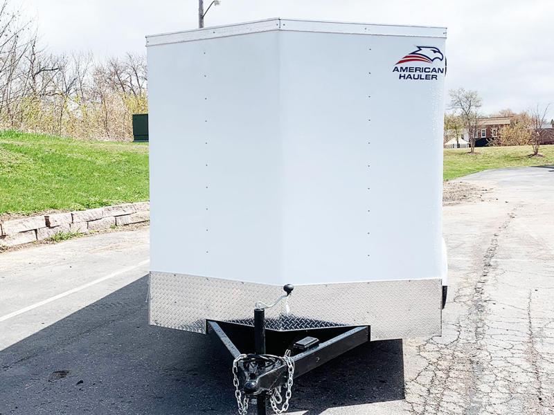 American Hauler 7x14 Enclosed Trailer - Dbl Rear Doors!